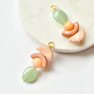 Earring charms for creoles/hoop earrings