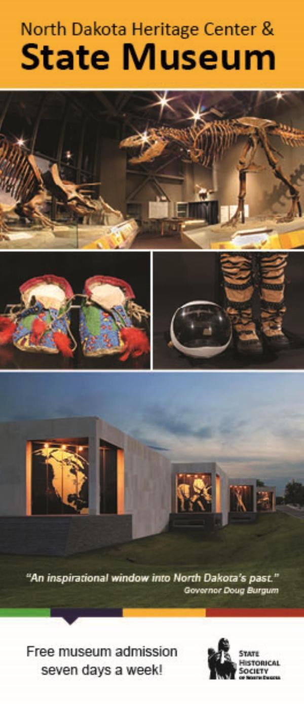 Visitor Brochures North Dakota Heritage Center & State
