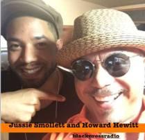Jussie Smollett with Howard Hewitt - BlacksinHollywood.com