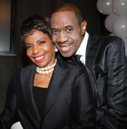 Freddie Jackson and Melba Moore were cutting up.