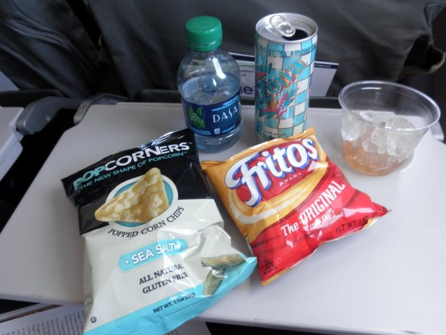 Flying makes you hungry