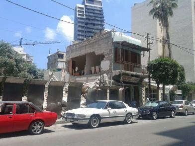 Mar Mkhayel House destroyed - 1