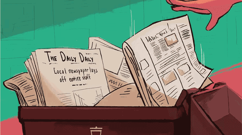 Daily Californian: A new form of censorship': Protect your local newspapers or they'll disappear