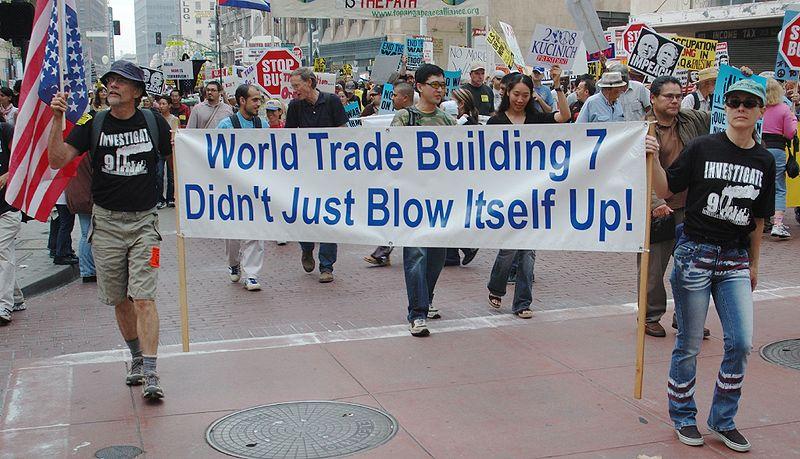 Image result for false flag event, implosion of building #7 on 911