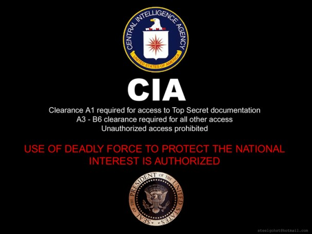 CIA WALLAPER BY STEELGOHST
