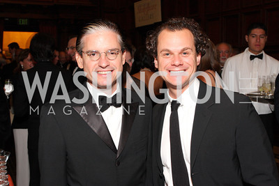Jimmy Alefantis (right) with Democrat politico and former lover David Brock