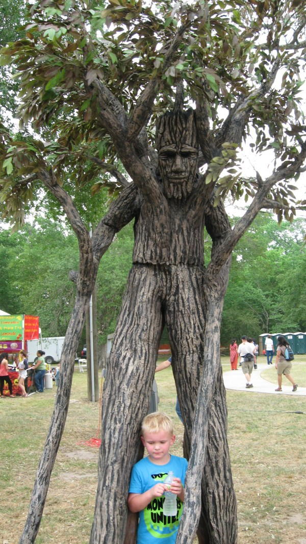 1000 Tree Stilt Costume Trees