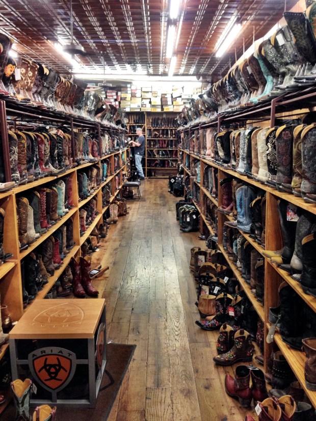Allen's Boot Stock