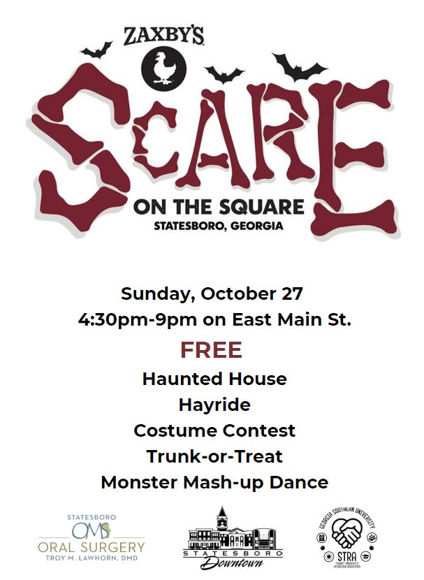 Zaxby's Scare on the Square