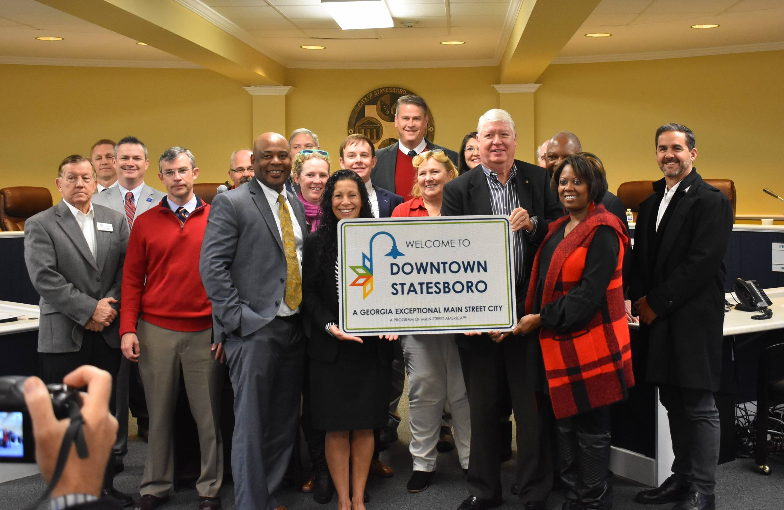 Downtown Statesboro Development Authority Receives Georgia Exceptional Main Street Designation