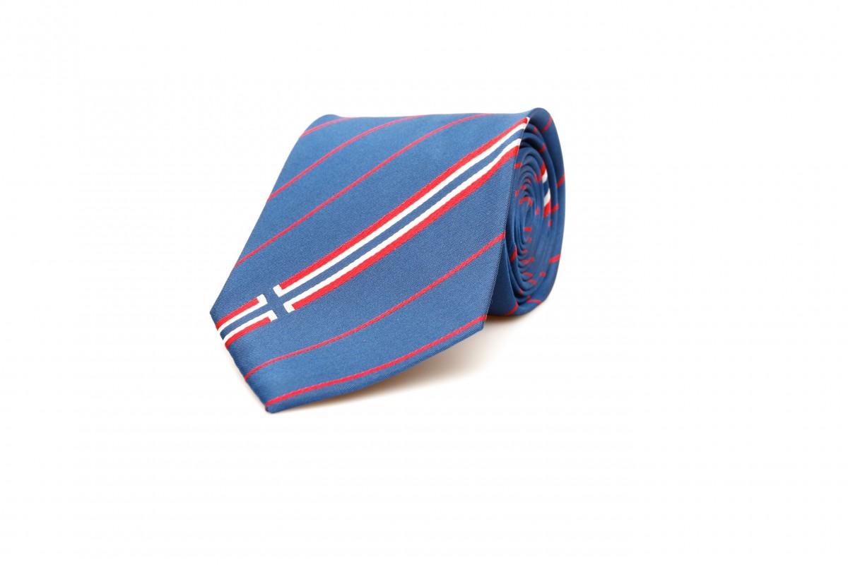 Norway Flag Engraved Personalised Tie Clip