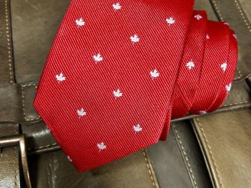 Canada Skinny Tie
