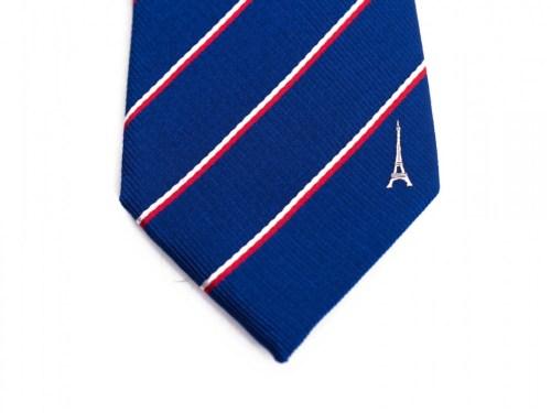 France Skinny Tie
