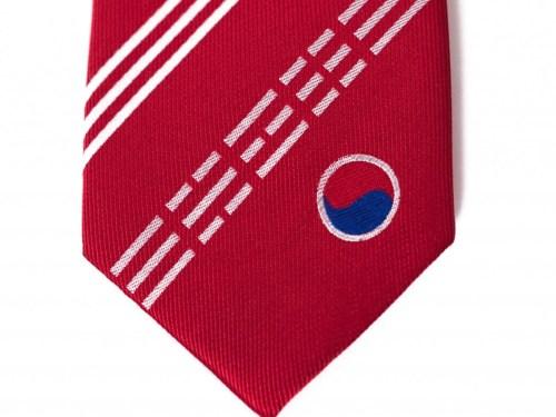 South Korea Skinny Tie