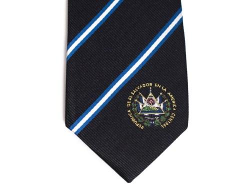 El Salvador Skinny Tie