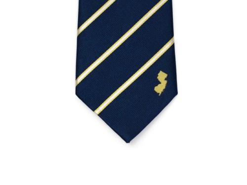 New Jersey Skinny Tie