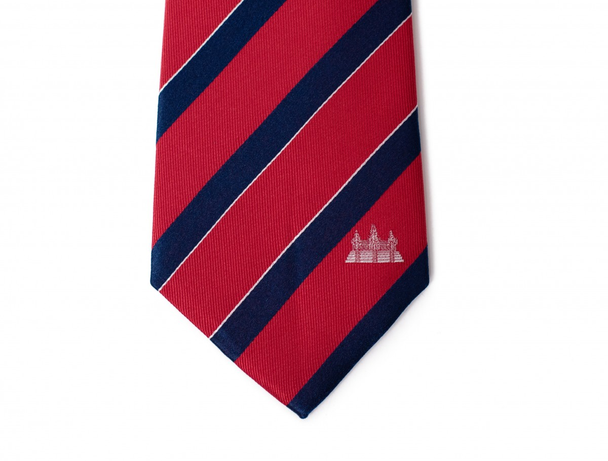 Cambodia Tie