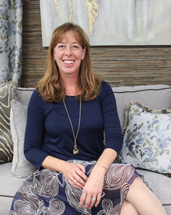 Wendy Anderson: One of the interior designers at State Street Interiors is expert in colors and the mood they create in a room.