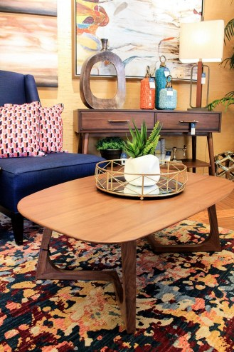 Modern Coffee table with modern twist that compliments any home decor style