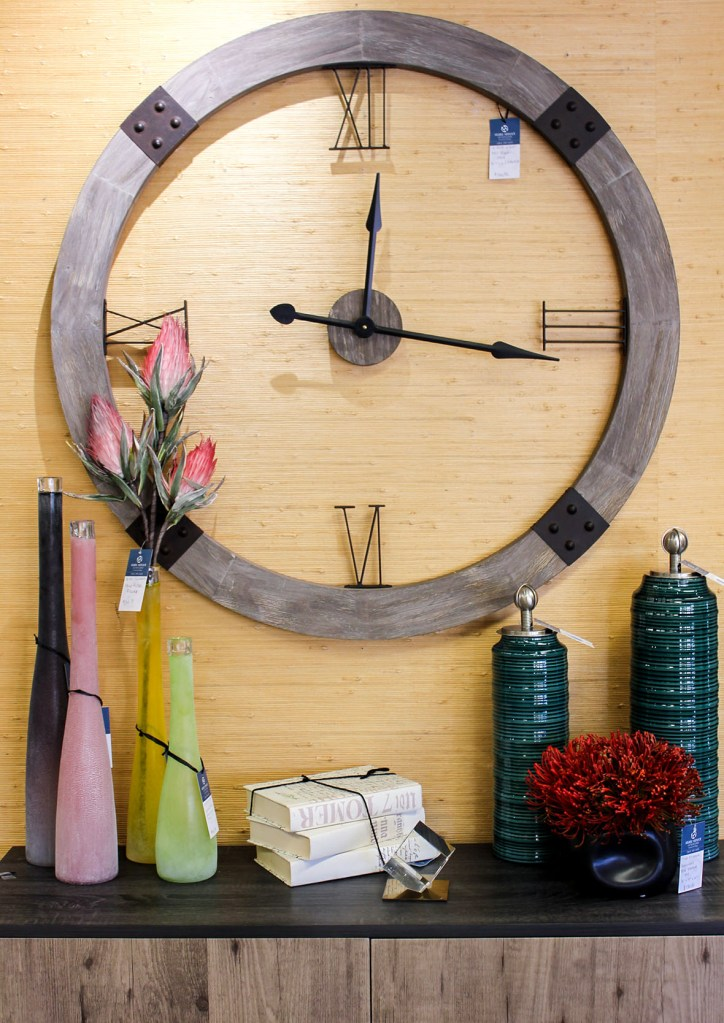 home decor oversized wall clock