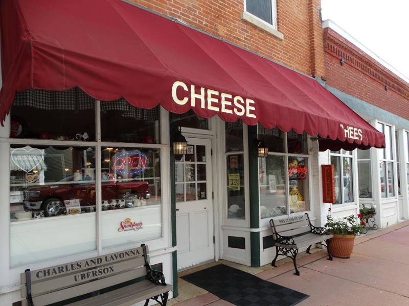 Shullsburg Cheese Store, Shullsburg, Wisconsin