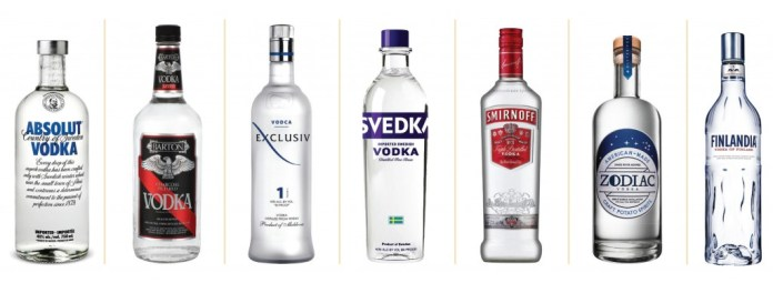 SW1505-Vodka bottles
