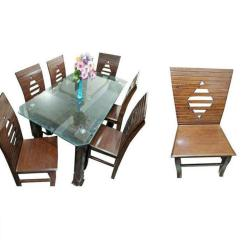 Chair Design Bd Swivel National Bookstore Di 59 Dinning Table With 6 Brown Buy Online At Best Prices In Bangladesh Daraz Com
