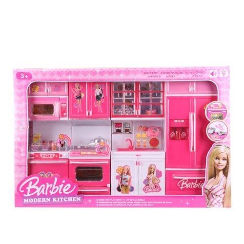 barbie kitchen playset roll around island toys buy at best price in bangladesh www plastic modern toy set crimson and white