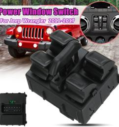 product details of driver side abs electric power window switch for jeep wrangler 2011 2017 [ 1200 x 1200 Pixel ]
