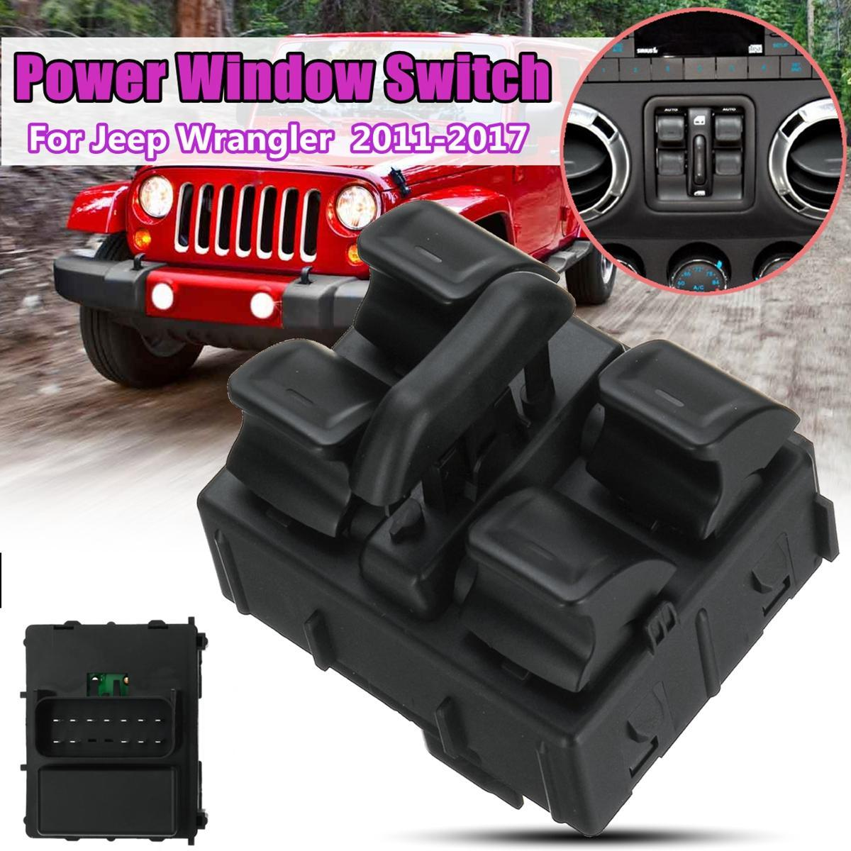 hight resolution of product details of driver side abs electric power window switch for jeep wrangler 2011 2017