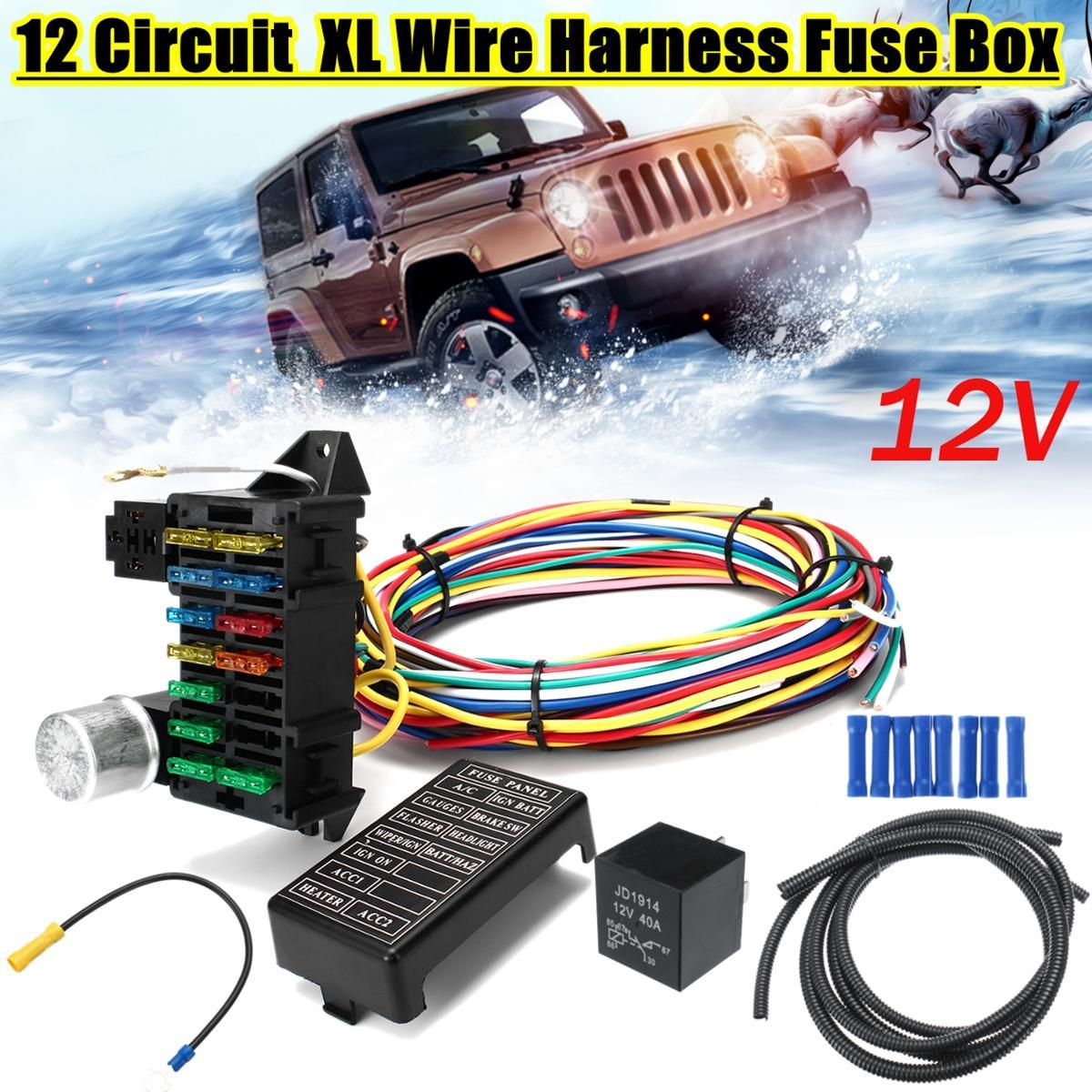hight resolution of package include 1 x 12 circuit wiring harness 2 x pipe 8 x blue accessories