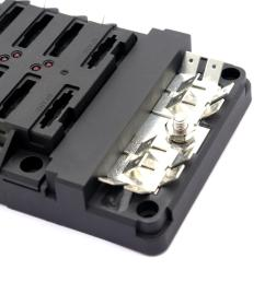 led indication of blown fuses transparent cover for clear view of fuses 100a positive bus bar with m5 10mm studs 0 250 quick terminals  [ 1200 x 1200 Pixel ]
