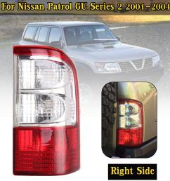product details of right tail light brake lamp w wire harness for nissan patrol gu series 2 01 04 [ 1200 x 1200 Pixel ]