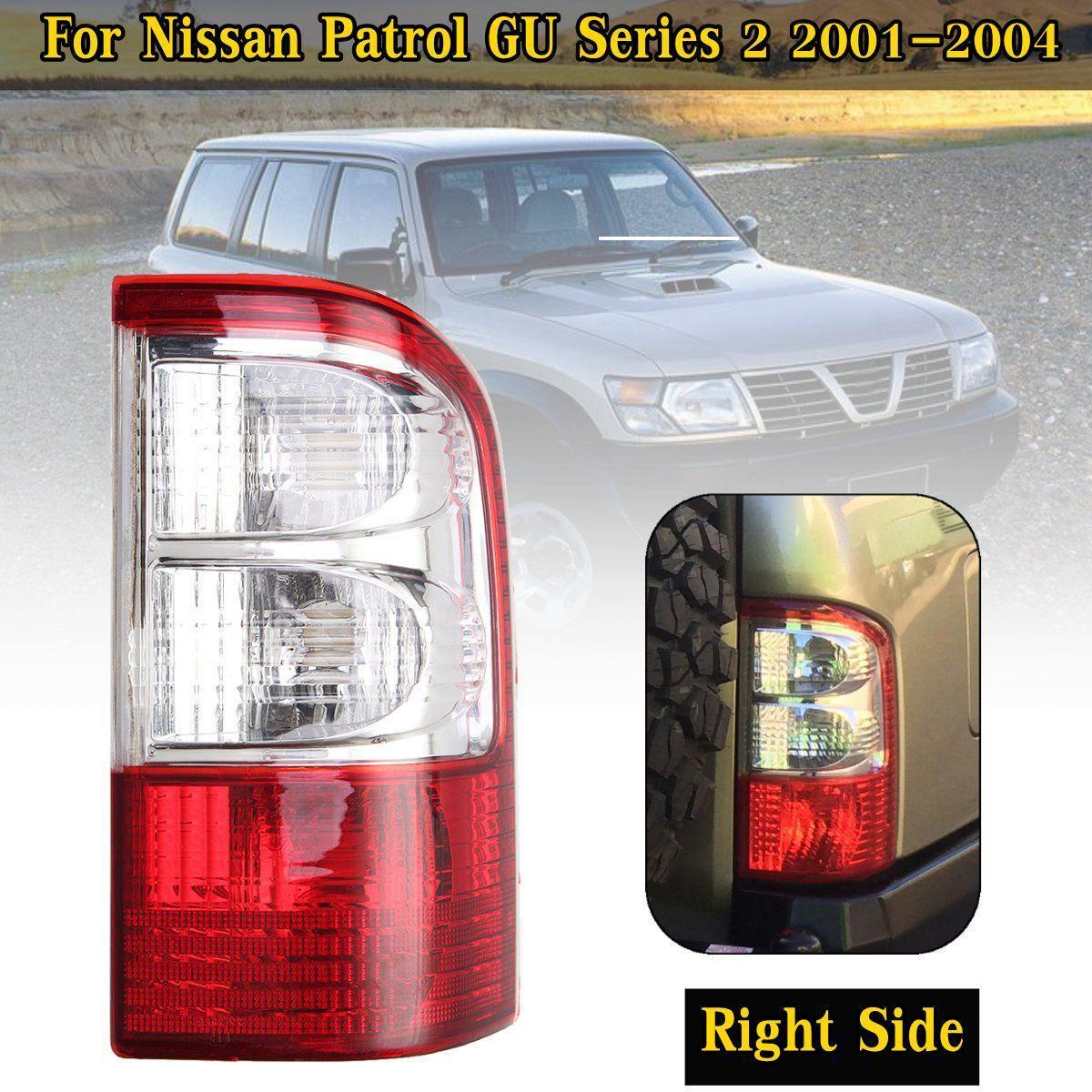 hight resolution of product details of right tail light brake lamp w wire harness for nissan patrol gu series 2 01 04
