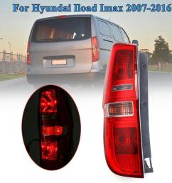 product details of rear tail light lamp left side w wire harness for hyundai iload imax 2007 2016 [ 1200 x 1200 Pixel ]