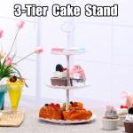3 Tier Cake Plate Stand Wedding Birthday Party Dessert Cupcake Display Holder Buy Online At Best Prices In Bangladesh Daraz Com Bd