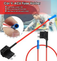 product details of v acu add a circuit fuse tap car mini micro blade fuse box holder low profile [ 1200 x 1200 Pixel ]