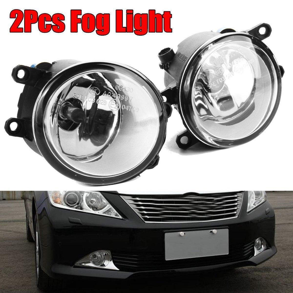 hight resolution of product details of pair for toyota camry corolla tacoma matrix yaris clear fog light driving lamp