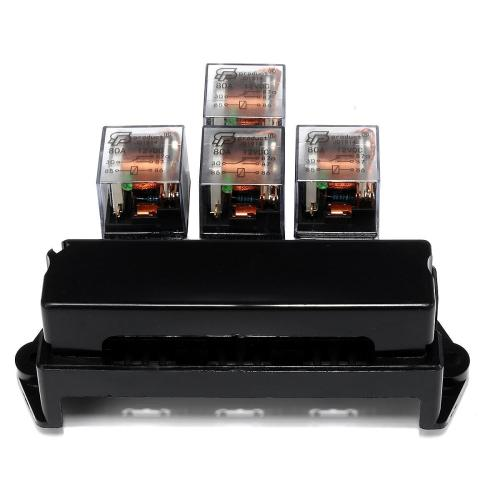 small resolution of product details of auto boat car 5 pin relay 12v 10 way standard blade fuse box block holder y2w8