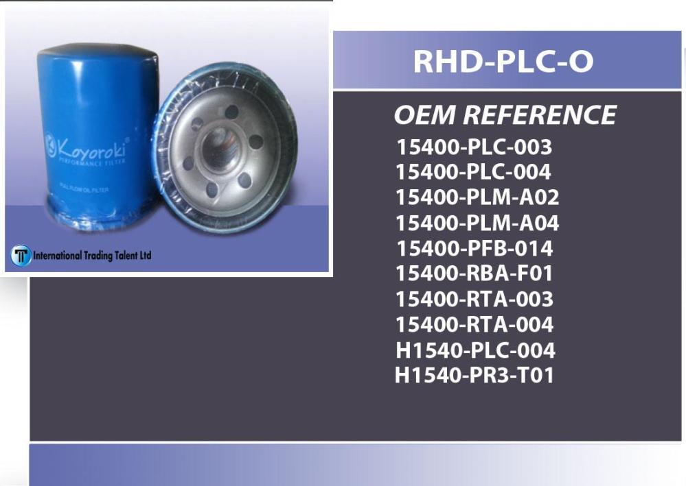 medium resolution of koyoroki genuine oil filter plc honda crv year 1998 on wards honda civic
