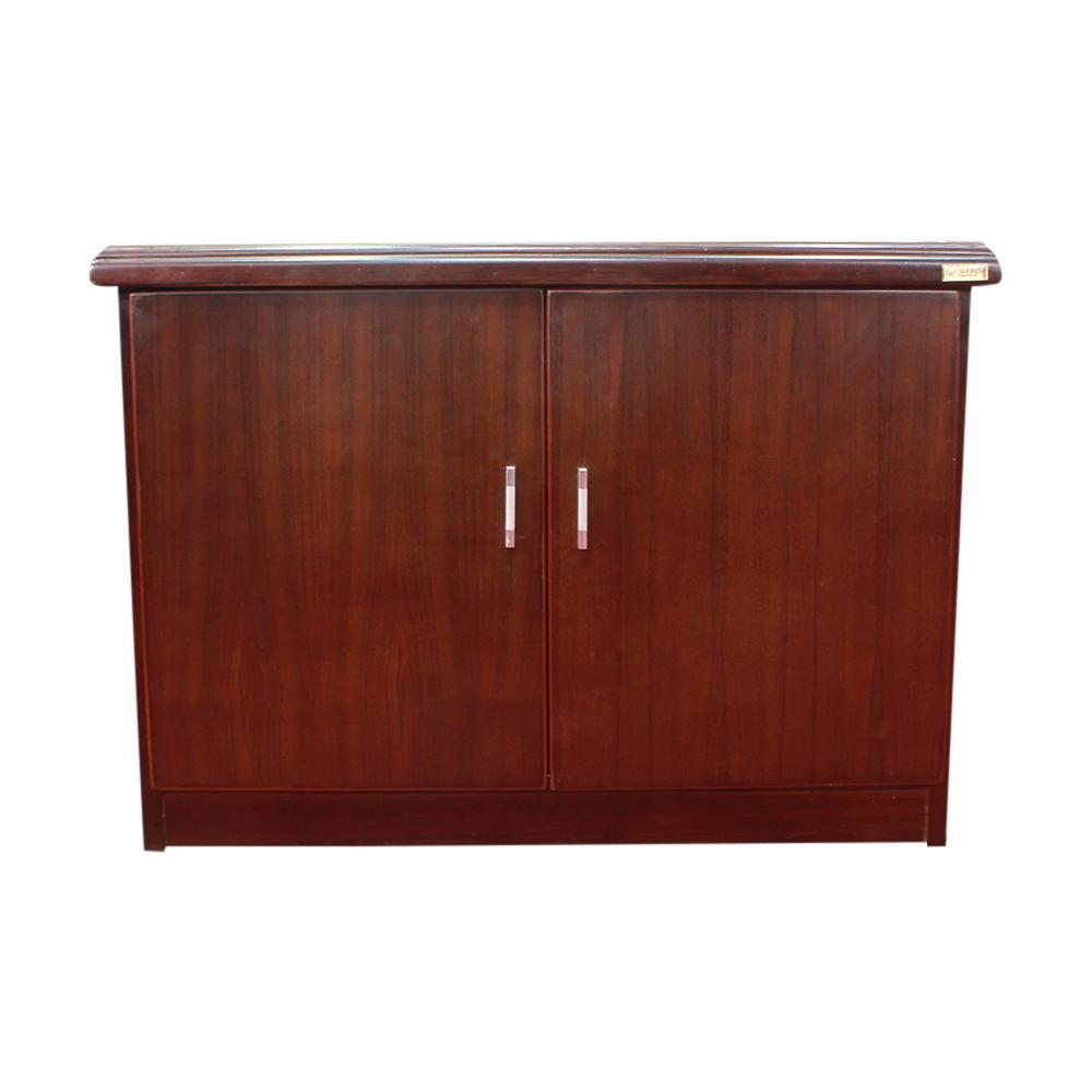 Sunrise Furniture Seesau Wood Luggage Storage Cabinet Dark Walnut Buy Online At Best Prices In Nepal Daraz Com Np