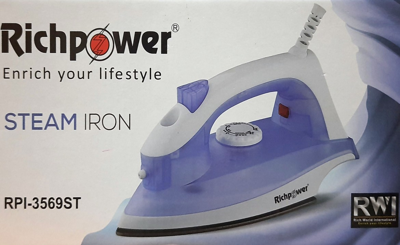 Richpower Steam Iron 1200W RPI-3569ST: Buy Sell Online @ Best Prices in SriLanka | Daraz.lk