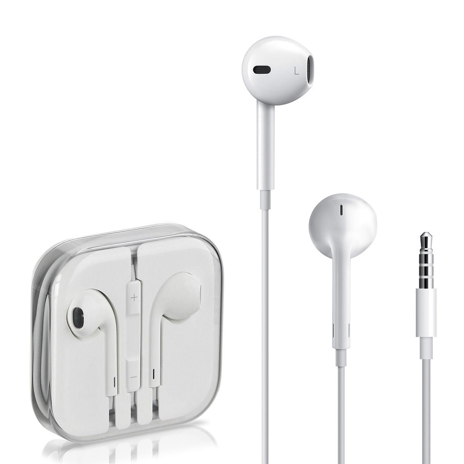 hight resolution of original apple earpods with 3 5 mm headphone plug handsfree for iphone 6 6s 6