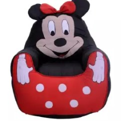 Minnie Mouse Bean Bag Chair Pedicure Chairs Package For Kids Buy Sell Online Best Prices In Pakistan Daraz Pk