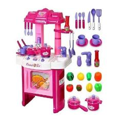 Kids Kitchen Toys Shoes For Chefs In The Online Daraz Pk Set Voice Light