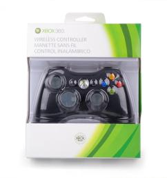 xbox 360 wireless controller black [ 1068 x 1068 Pixel ]