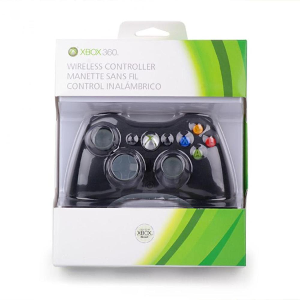 medium resolution of xbox 360 wireless controller black