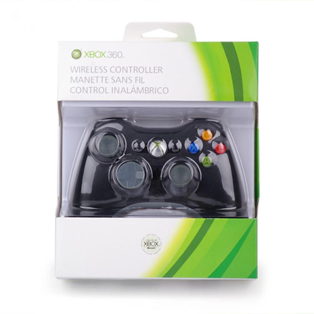 hight resolution of xbox 360 wireless controller black