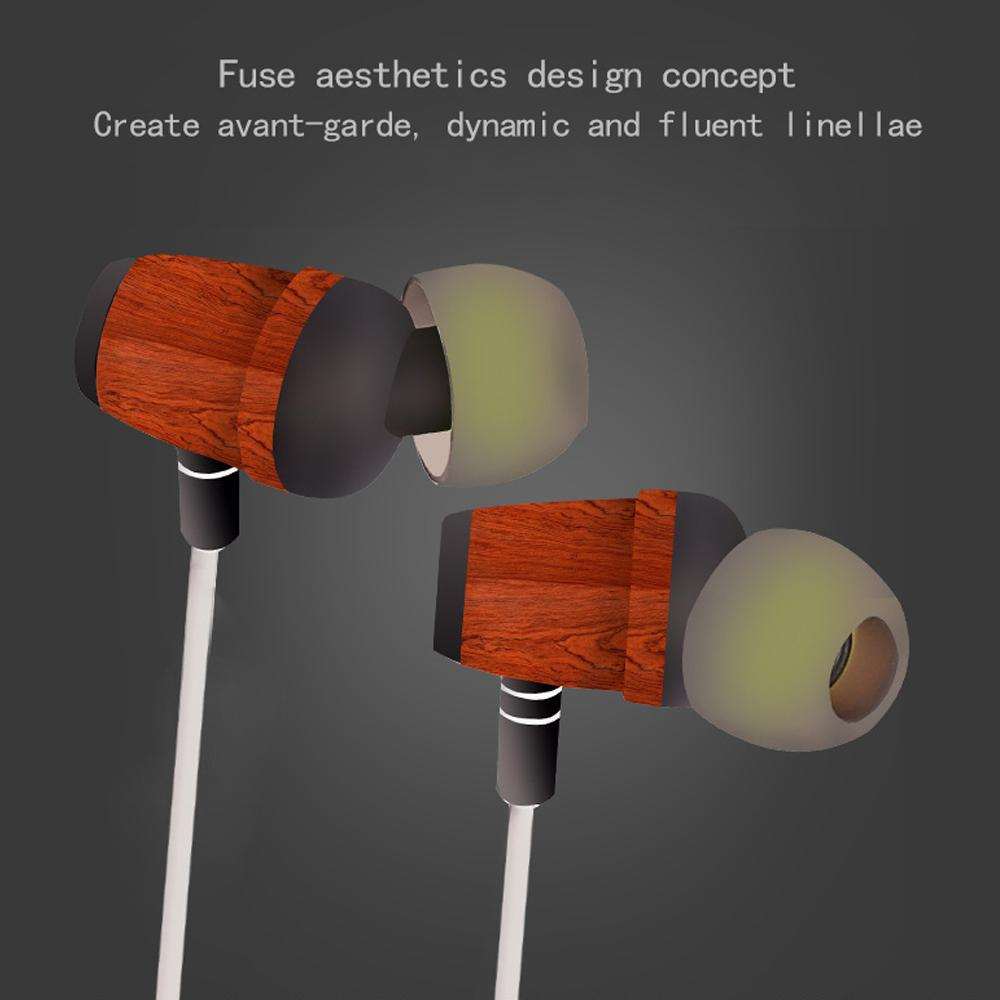 medium resolution of original zermie ecology hi fi super deep bass stereo wood earphone handsfree with high class box