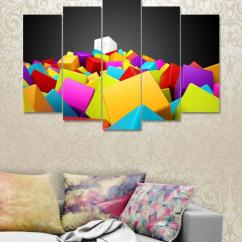 Wall Frames For Living Room Rooms With Grey Leather Couches Buy Bednshines Home Picture At Best Prices Online In Pakistan 5 Pieces Digitally Printed